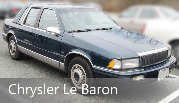 запчасти chrysler le baron | запчасти крайслер ле барон